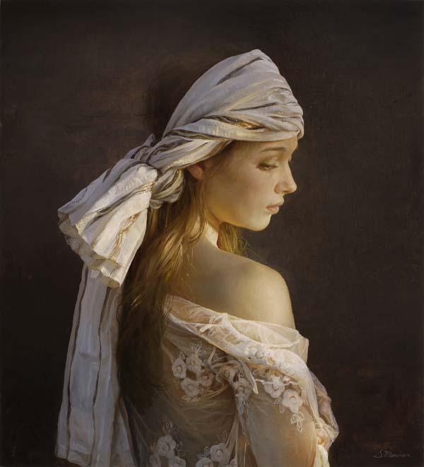 Untitled 2, a Serge Marshennikov Original Painting