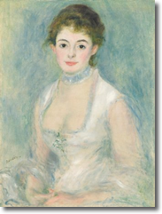 Madame Henriot by Auguste Renoir